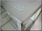 Nerūdijančio plieno stalai, lentynos