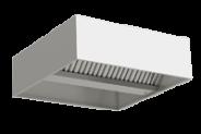 Nerūdijančio plieno centrinis ventiliacijos gaubtas dėžės tipo